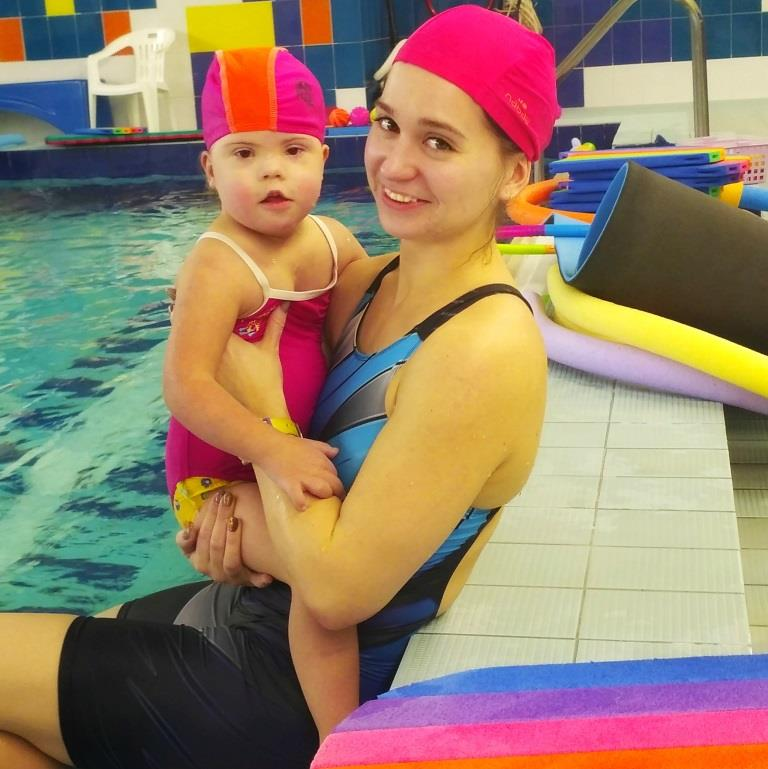 Плавание для детей с особенностями.